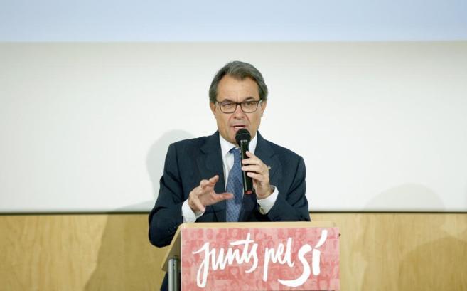 El presidente de la Generalitat, Artur Mas, en un discuso.