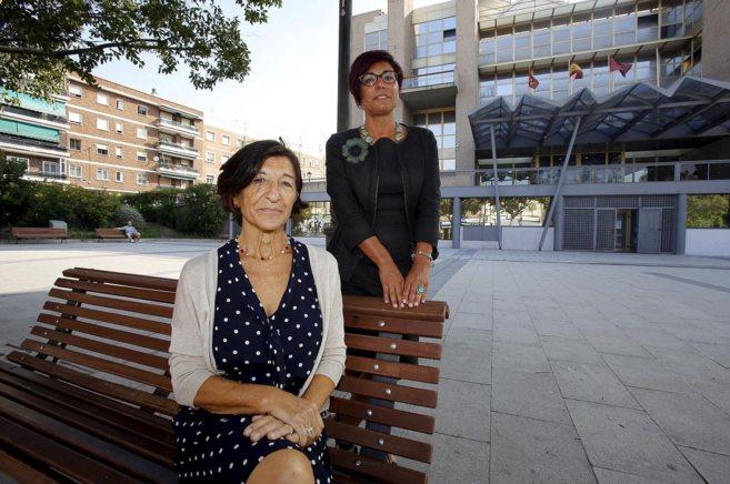 Ángeles Torner y Ana Luis Santo Olalla, responsables del centro de...
