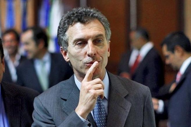 El alcalde de Buenos Aires, Mauricio Macri.