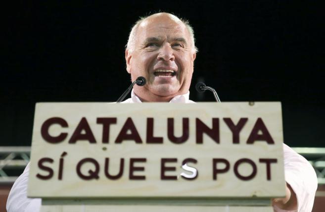 El candidato a la Generalitat por Catalunya Sí que es Pot, Lluís...