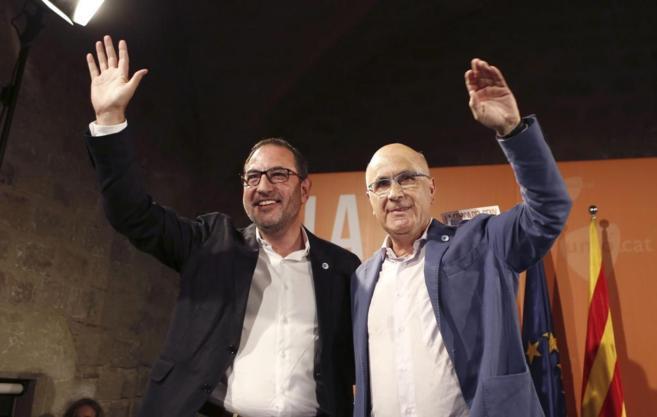 El candidato de Unió Democrática de Cataluña a la Generalitat,...