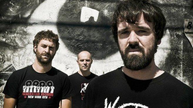 El grupo de música Berri Txarrak.