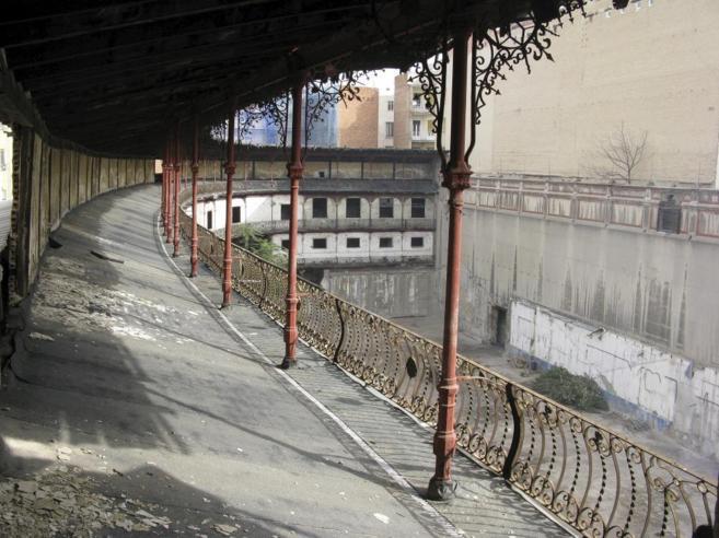 El frontón abandonado de Bata-Jai en una imagen tomada en 2010.
