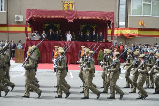 Acto en reconocimiento de la labor de la Guardia Civil en el Pais...