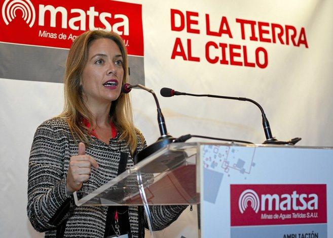 Paula Chaves, hija del ex presidente Chaves y directora jurídica de...