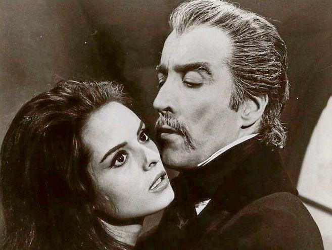 La actriz sevillana Soledad Miranda, en un fotograma de 'El conde...