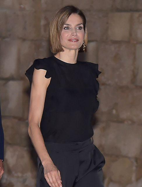 La Reina Letizia, este verano en Mallorca.