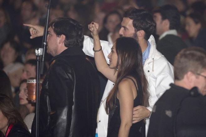 Tamara Falcó y Enrique Solís, juntos en un concierto.