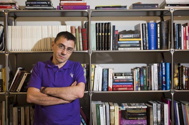 Juan Carlos Monedero el pasado julio.