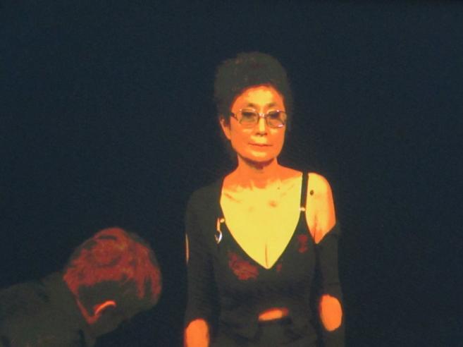 Yoko Ono, viuda de John Lennon.