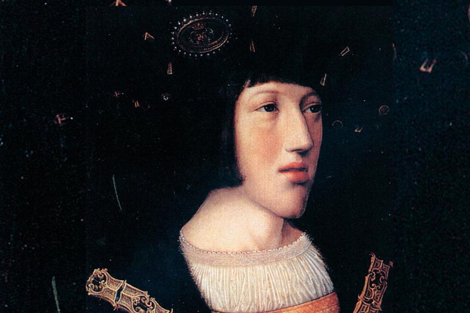 Carlos V en 1516.
