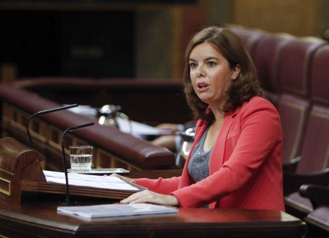 [XI Legislatura] 1ª Sesión del Debate de Investidura de Dña. Soraya Sáenz de Santamaría Antón 14423250131792