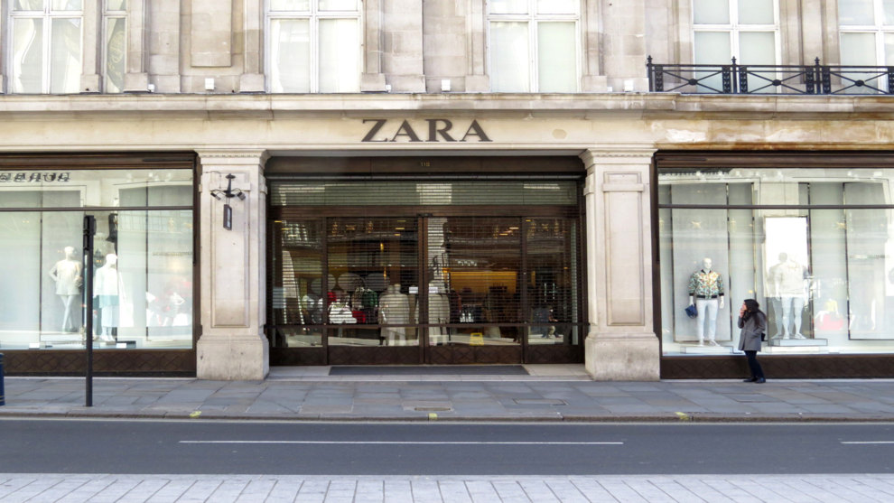 tienda zara INDITEX