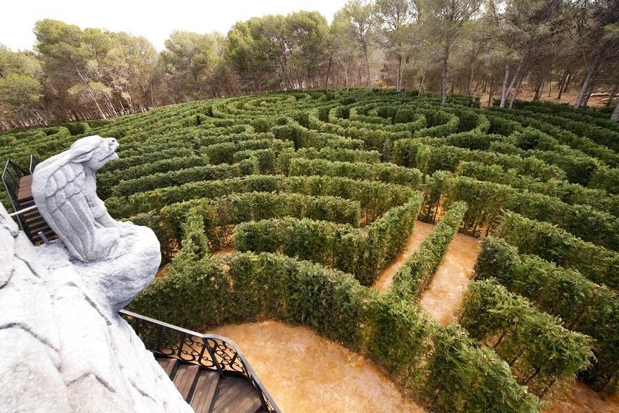 El laberinto de la granja (segovia). uno de los... | Sapos-y-princesas | EL  MUNDO