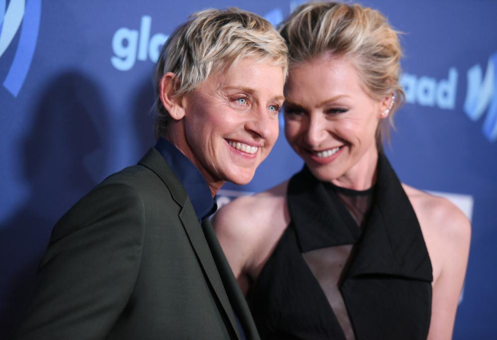 <strong>Ellen DeGeneres y Portia de Rossi</strong>. Si tenemos que...