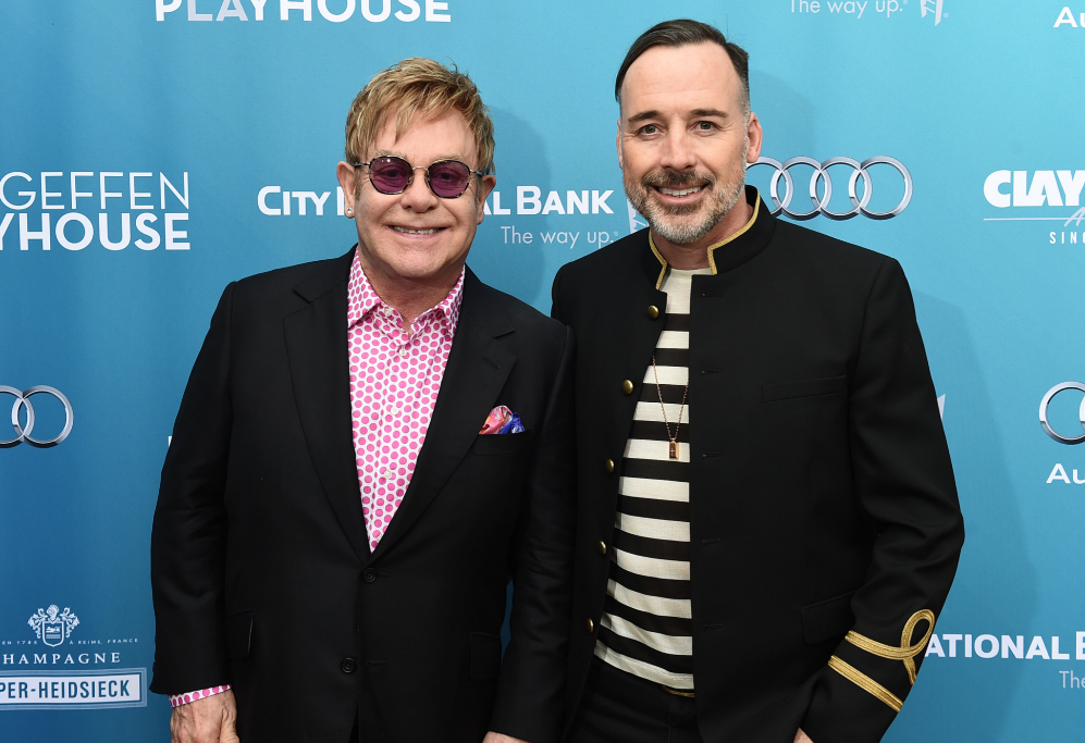 <strong>Elton John y David Furnish.</strong> Llevan tanto tiempo...