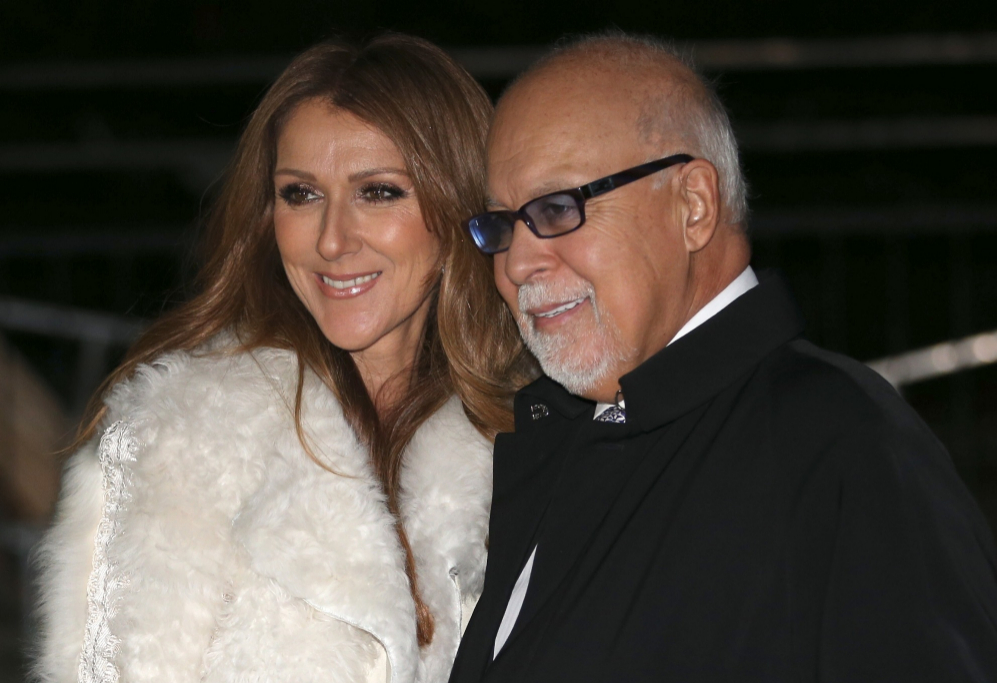 <strong>Céline Dion y René Angélil</strong>. La cantante Céline...