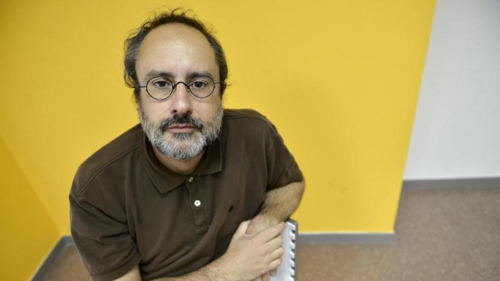 El candidato a la Generalitat de la CUP, Antonio Baños