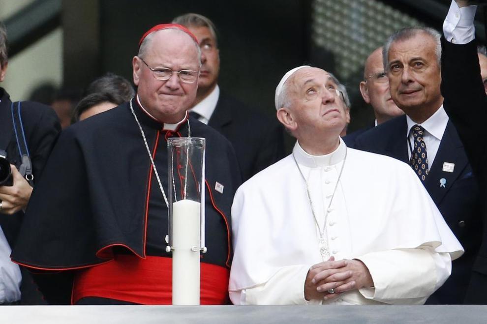 El Papa, con Dolan