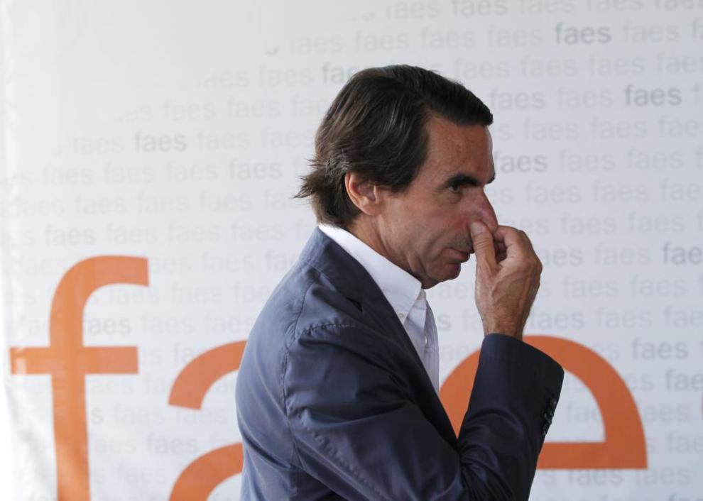 José María Aznar, en la clausura del Campus Faes el pasado julio.