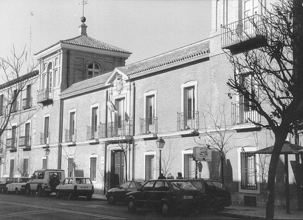 Una imagen de la sede central del Instituto Cervantes, en la localidad...