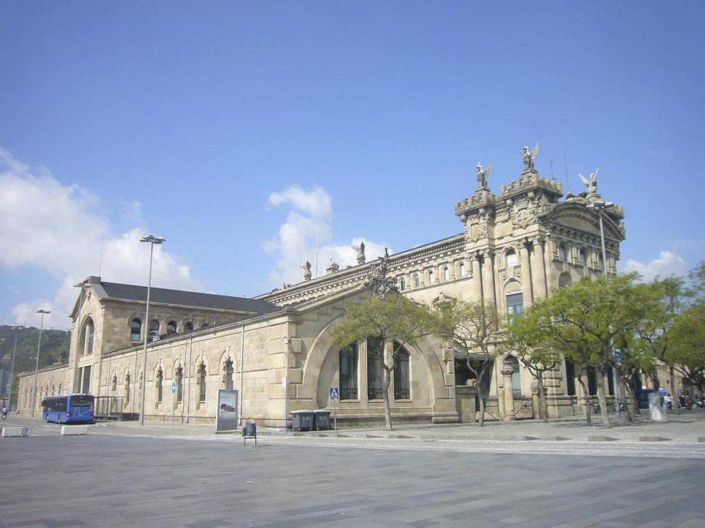Portal de la Pau, en Barcelona.