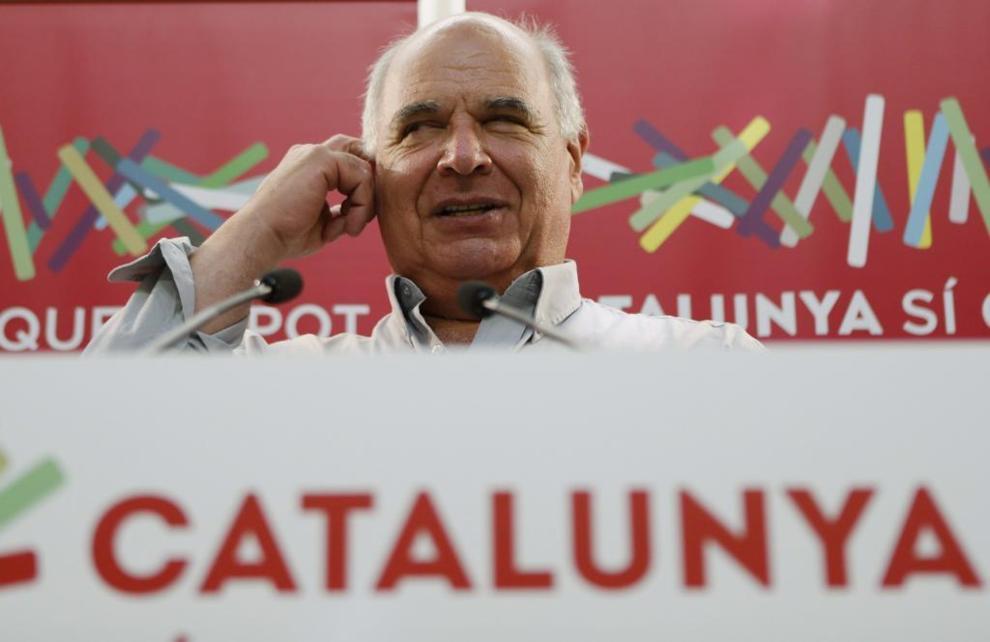 El cabeza de lista de Catalunya Sí que es Pot, Lluís Rabell.