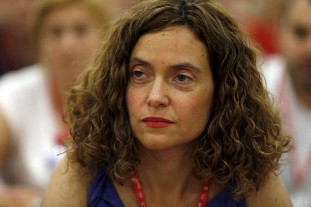 Meritxell Batet, en el Congreso Federal Extraordinario del PSOE...