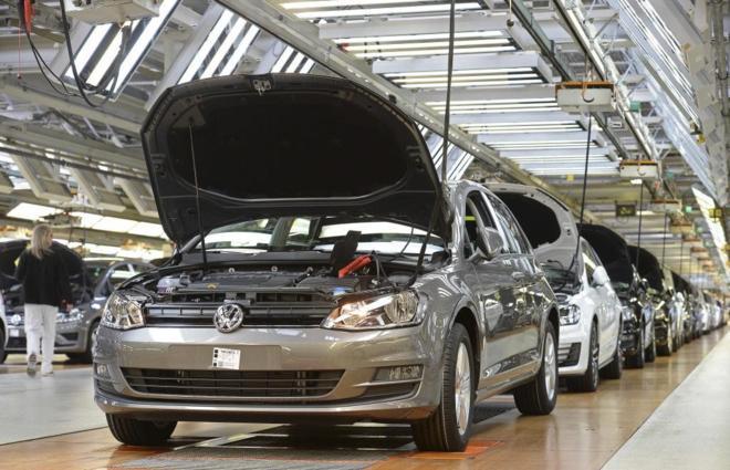 Fábrica de Volkswagen en Wolfsburgo