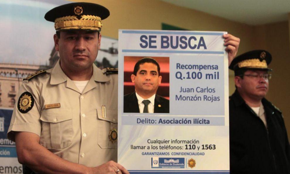 El director de la Policía Nacional de Guatemala, Walter Vásquez,...