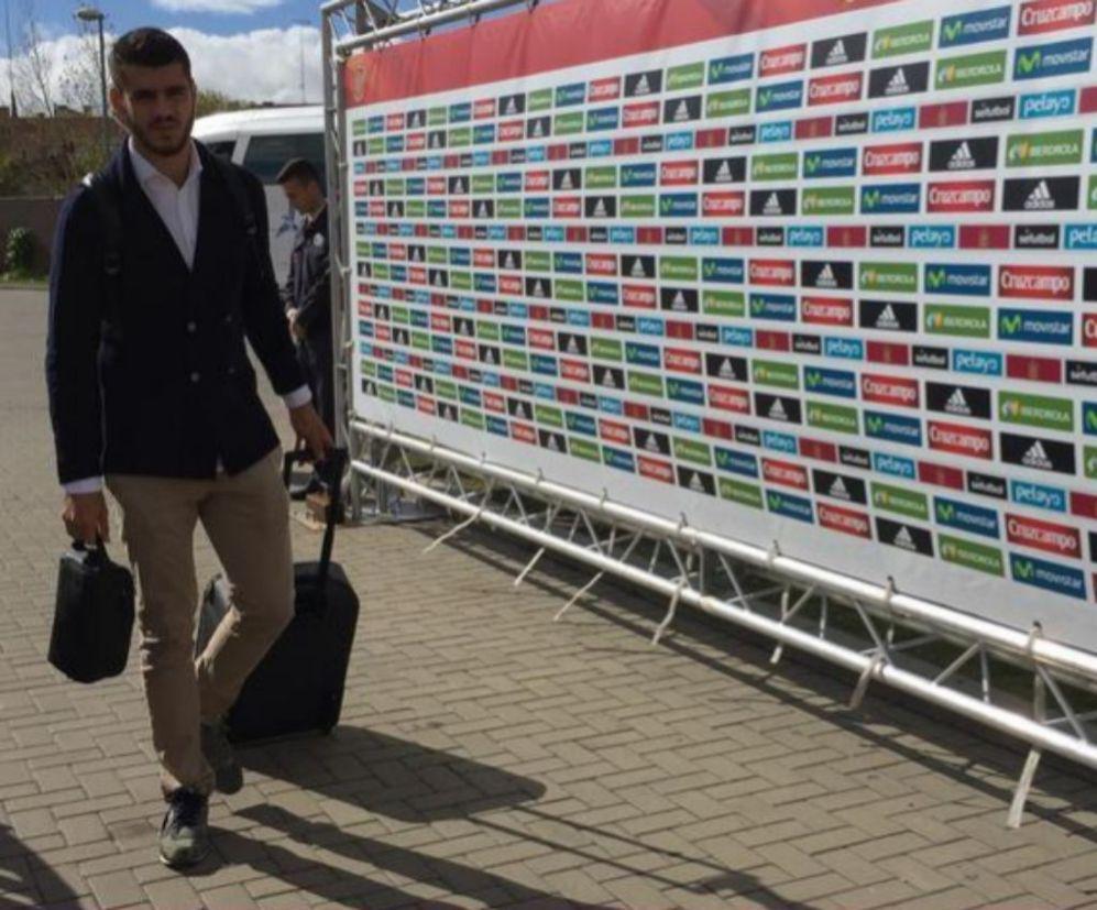 Morata, en racha con la Juventus, regresa a la selección