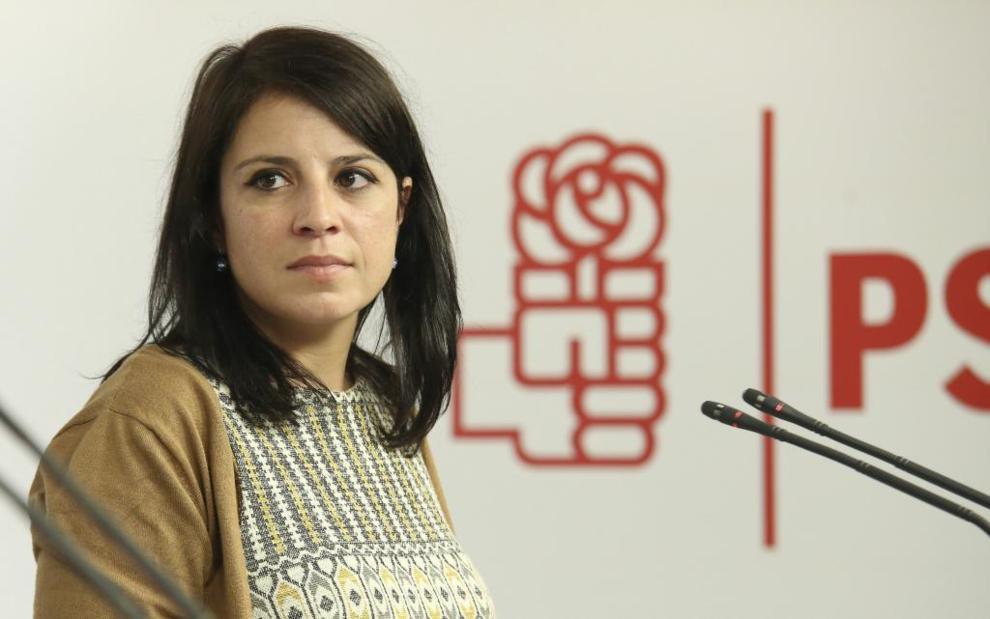 Adriana Lastra, vicecoordinadora del Comité Electoral del PSOE.