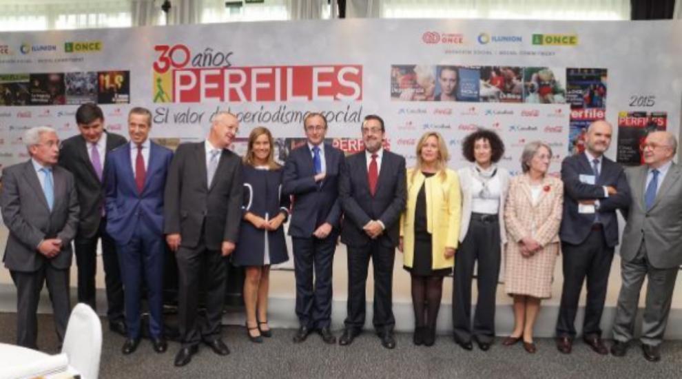 Desde la izquierda, Juan Carlos Aparicio, Manuel Pimentel, Eduardo...