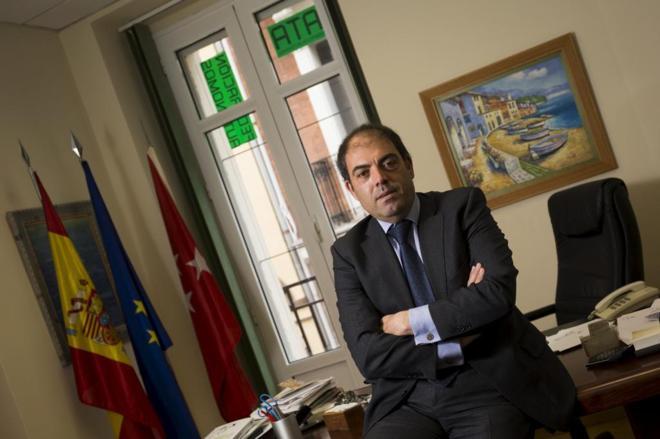 Lorenzo Amor, presidente de ATA (Asociacion de Trabajadores Autonomos)...