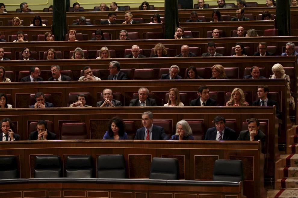 El pleno del Congreso, durante una votación.