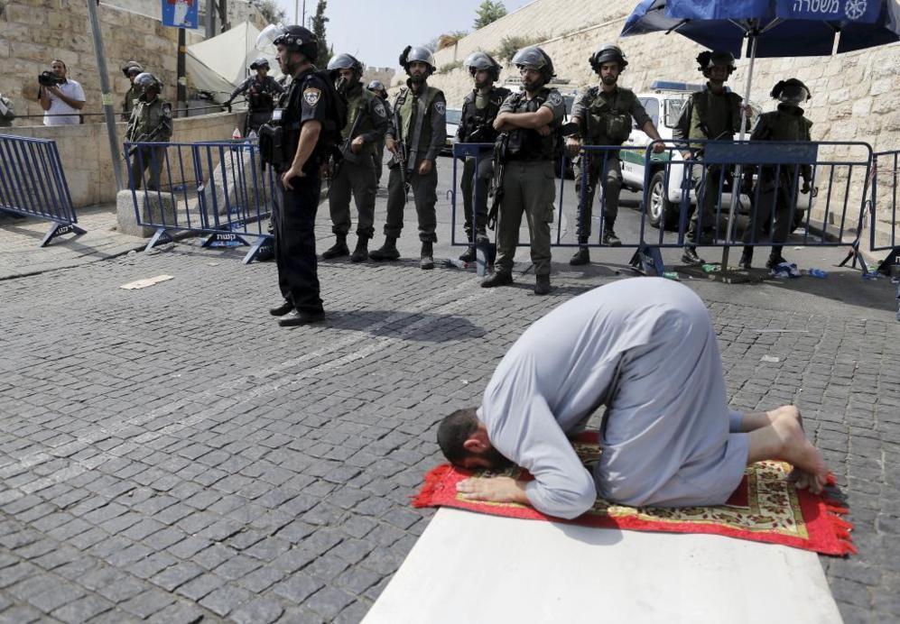 EXPLANADA DE LAS MEZQUITAS.  Jerusalén. Llamado también Monte del...