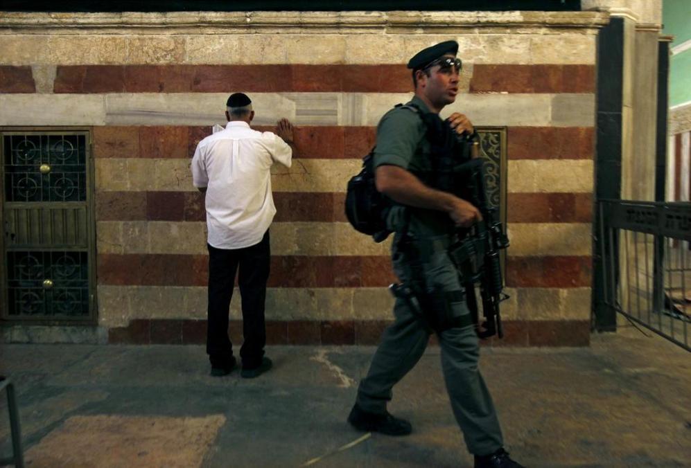 TUMBA DE LOS PATRIARCAS. Hebrón. En esta ciudad cisjordana se sitúa...
