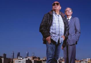 José Huertas, en primer plano, y Armando Rodríguez, esta semana en...