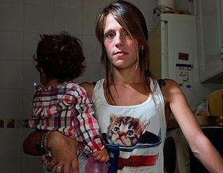 Sara Caleya, de 26 años, en paro.