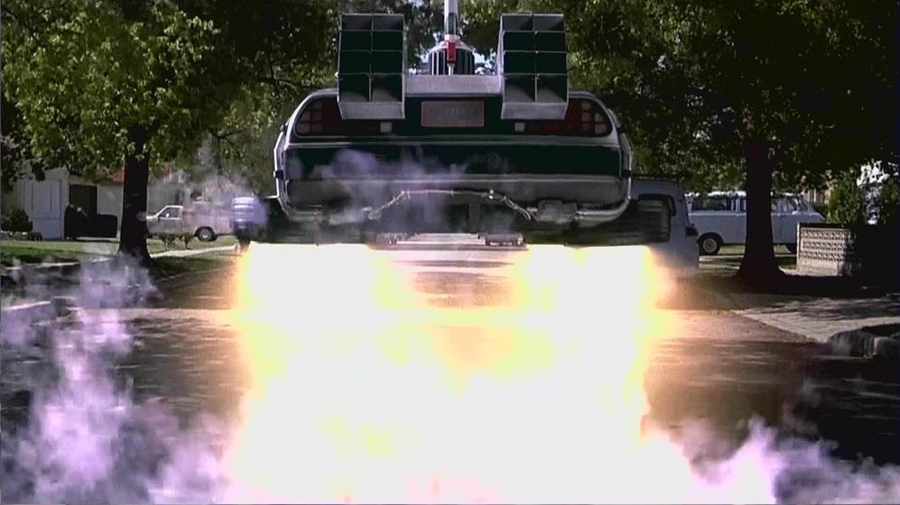 Sí se han hecho realidad:  los coches voladores. Sólo existen...