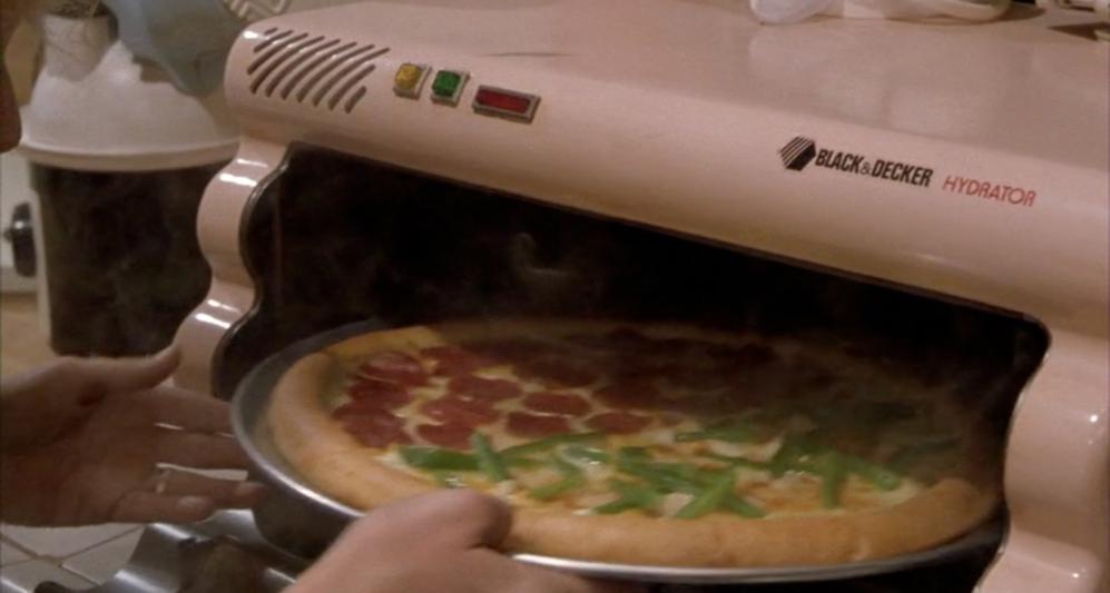 No se ha hecho realidad: el hidratador. La familia McFly cenaba unas...
