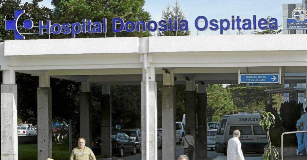 Vista del Hospital Donostia de San Sebastián.