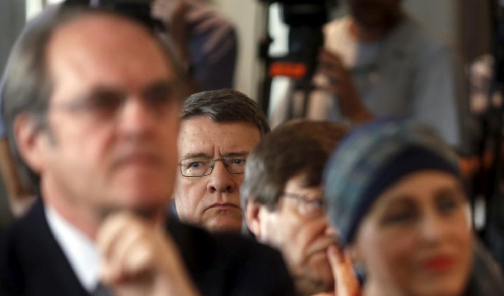 Jordi Sevilla, responsable del programa económico del PSOE, en un...