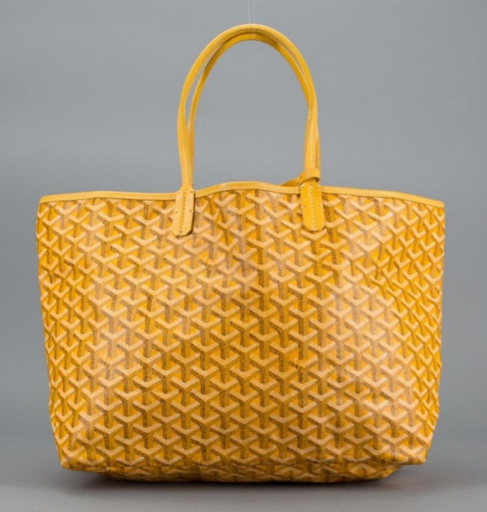 ¿No más monogramas  Este bolso de Goyard ... d0b1be61299