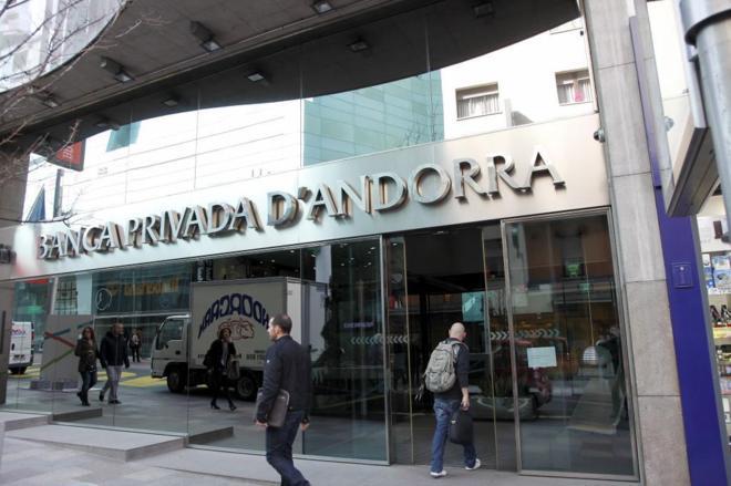 Sede de la Banca Privada de Andorra en Andorra la Vella.