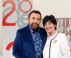 José Manuel Parada y Concha Velasco en el plató de 'Cine de...
