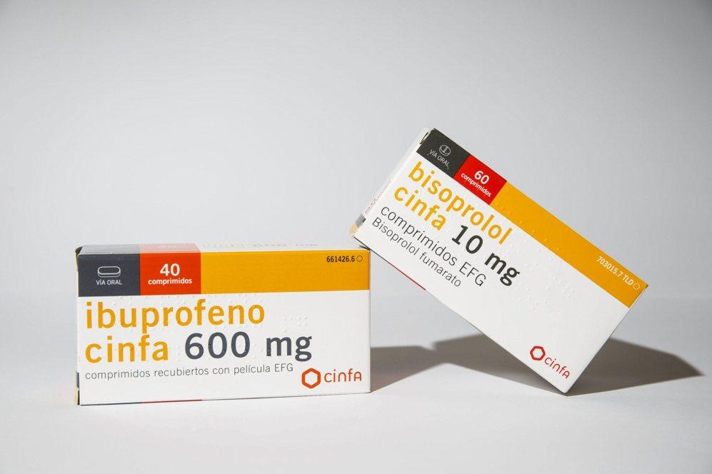 IBUPROFENO / BISOPROLOL: Indicado a pacientes con insuficiencia...