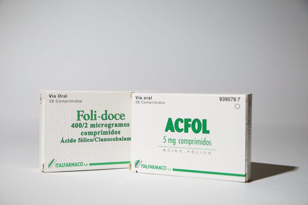 FOLI-DOCE / ACFOL: Ambos llevan en su composición ácido fólico,...