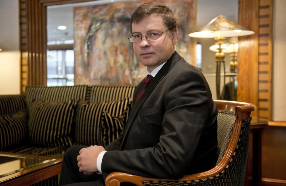 Vladis Dombrovskis.