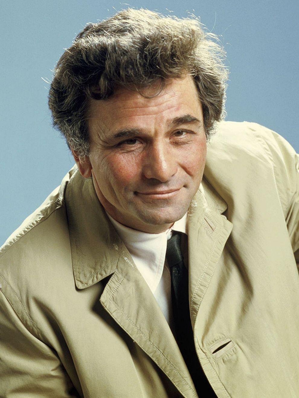 Frank Colombo, Peter Falk en 'Colombo' (1971). Siempre busca un...